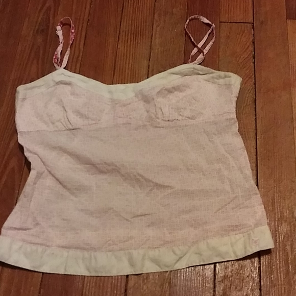 American Eagle Outfitters Tops - American Eagle Light Pink Tank Top